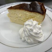 バスクチーズケーキ始めました